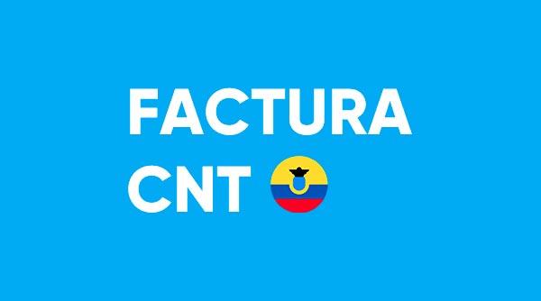 Sacar la factura del CNT actualizada